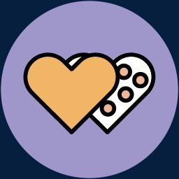 卡通立体图标图片情人节图标