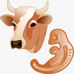 牛胚胎图标