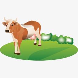 喂牛的图标
