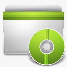 CD文件夹图标