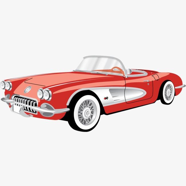 汽车雪佛兰corvette敞篷车图标