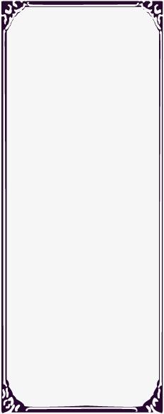 古典中式花纹花边矢量图