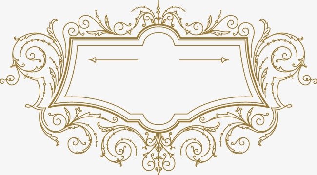 卡通手绘花纹边框(图片编号:15403530)