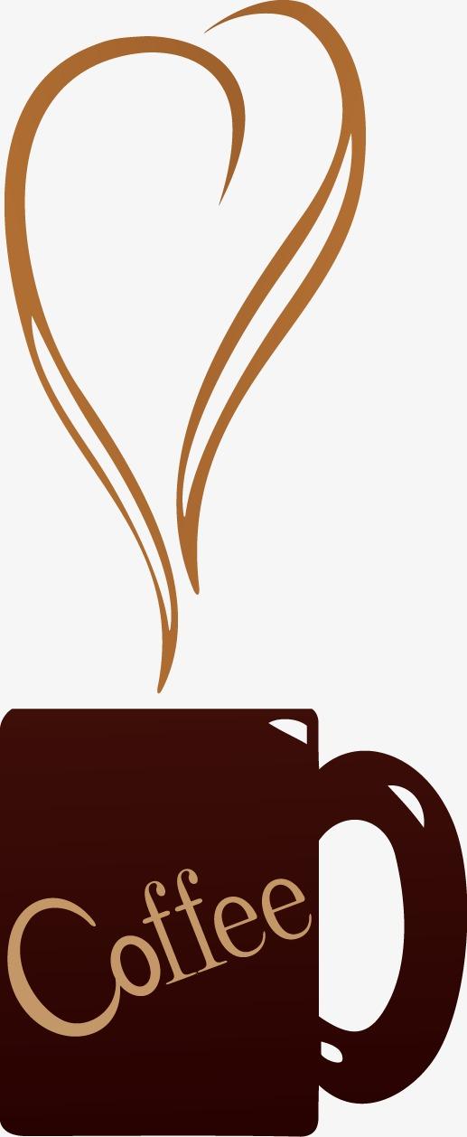 卡通手绘咖啡杯