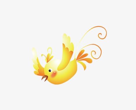卡通可爱小鸟
