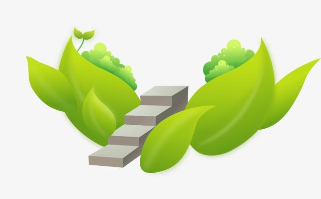 图片 > 【png】 卡通树叶台阶  分类:装饰元素 类目:其他 格式:png图片