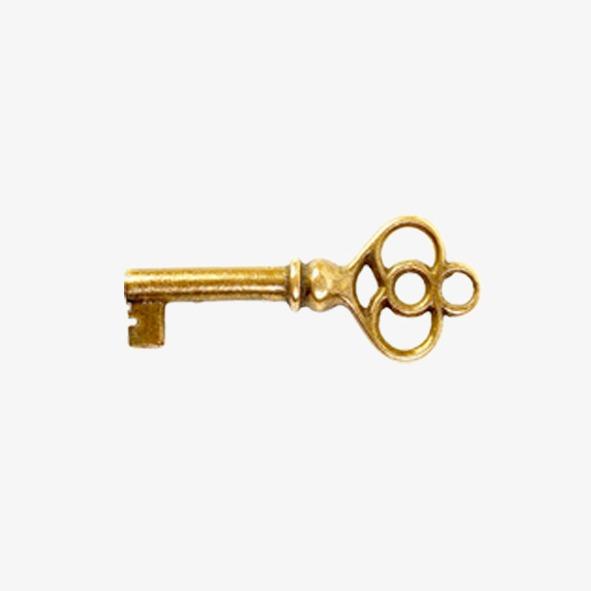 金钥匙png素材-90设计