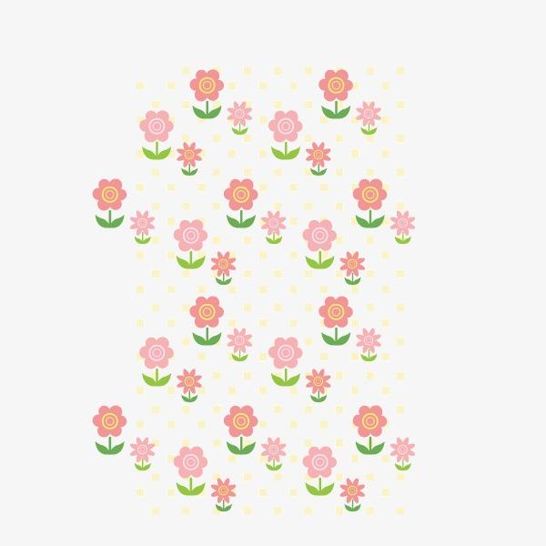 背景装饰 卡通手绘 花卉 小花小草png图片素材高速下载.