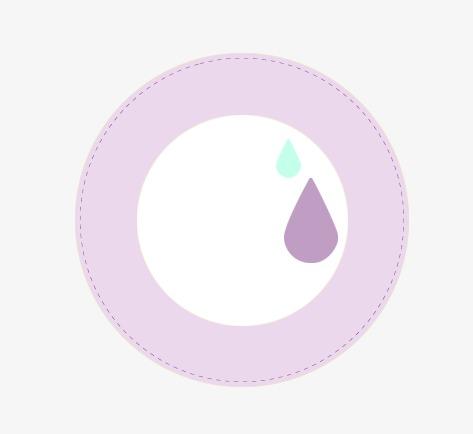 唯美淘宝粉色圆形水滴标题栏