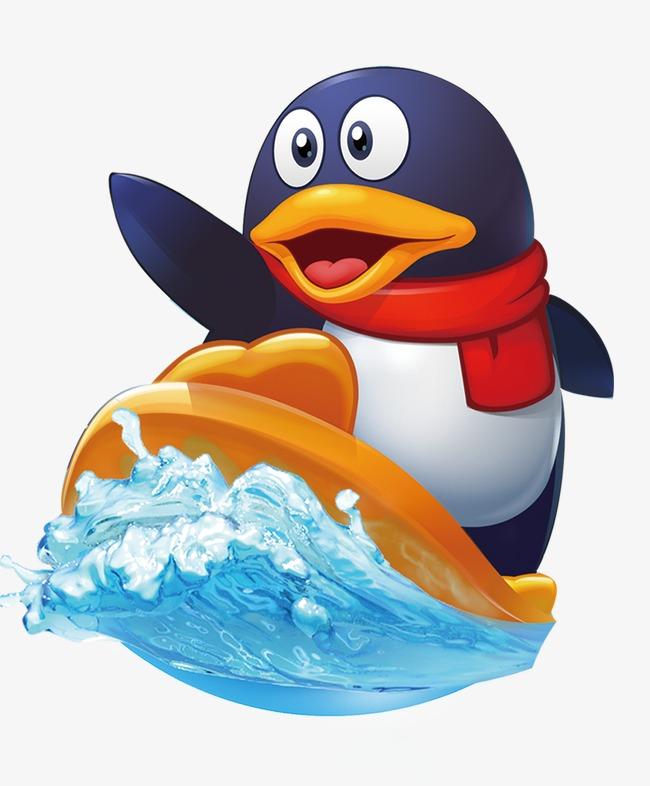 手绘qq企鹅图片大全