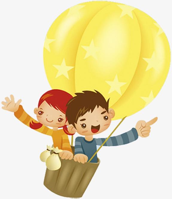 坐一次热球多少钱_坐热气球的小孩