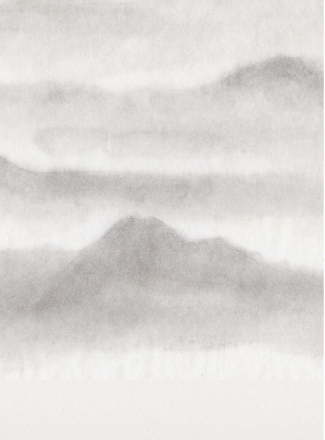 水墨画山背景图素材图片免费下载_高清不规则图形psd