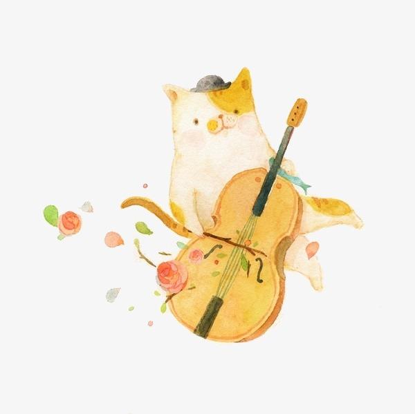水彩手绘动物图案水彩手绘动物小清新-水彩手绘动物图案素材图片免