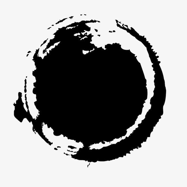 水墨画专辑 笔画 黑色 中国风 墨水 笔刷 墨迹专辑图片