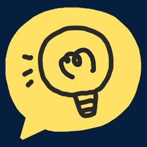 对话框抽象字体字母设计立体图标卡通彩色手绘立体图标素材灯泡对
