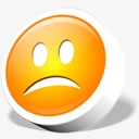 webdev悲伤表情符号图标图片