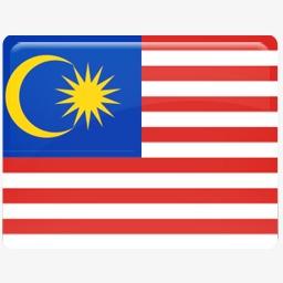 马来西亚国旗图标图片
