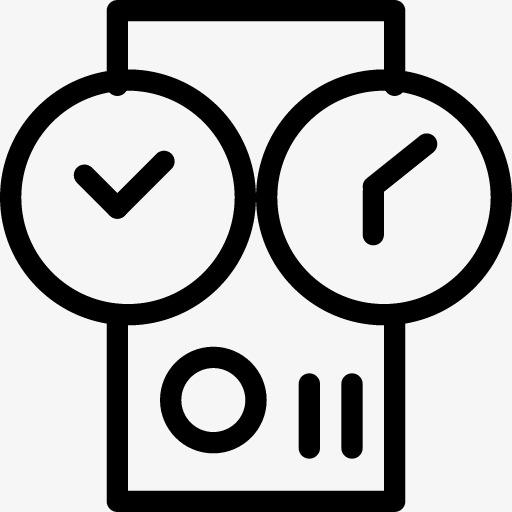 时间机器图标png素材-90设计