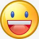 雅虎面对有趣的快乐笑脸乐趣微笑情感表情符号systematrix图片