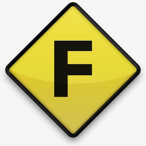 本次回来黄色道路标志作品为设计师鱼儿创作,格式为png,编号为图片