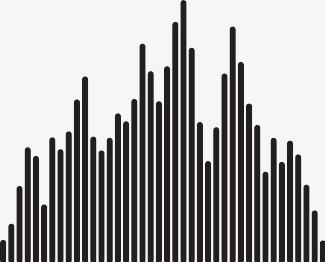 darmo icons vertikal tunn volym linjer graf - ladda ner gratis