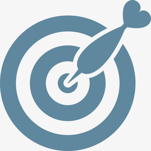 成就箭头目标市场营销客观的成功目标商业和金融素材