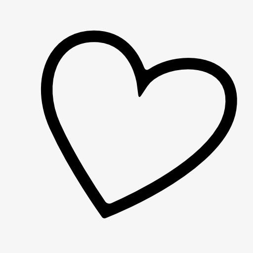 空心的小爱心符号图标图片背景素材免费下载,图片编号928127 千库网