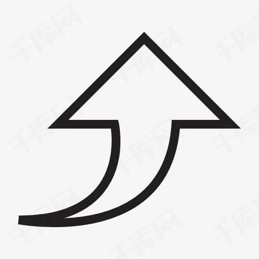 上升箭头图标素材图片免费下载 高清图标素材png 千库网 图片编号图片