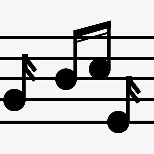 音乐五线谱图标