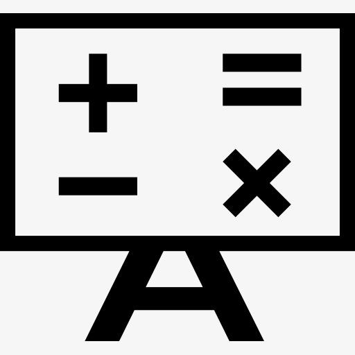 数学计算符号图标图片