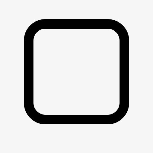 正方形图标