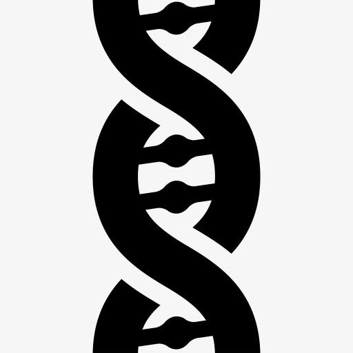 化学dna螺旋分子科学结构免费杂项图标集1png素材-90