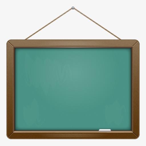 手绘支架黑板动漫