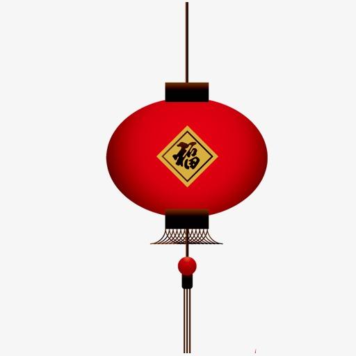 红色的灯笼图标