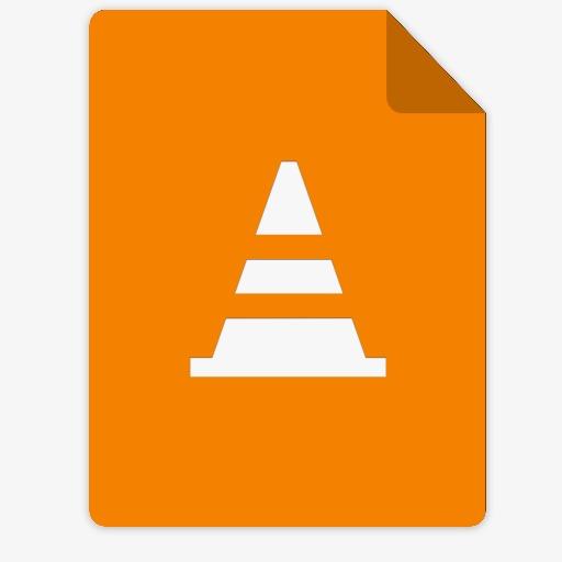 橙色指标文件图标下载png素材-90设计