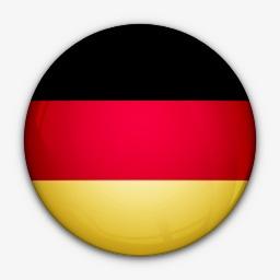 国旗德国对世界标志图标图片