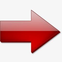 红色的水晶右箭头图标素材图片免费下载 高清图标素材png 千库网 图