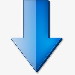 蓝色箭头png图片大全 蓝色箭头png图片在线观看 梨子网