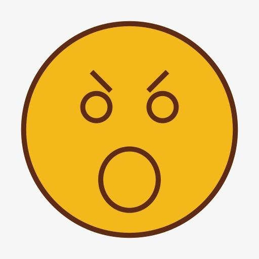 表情符号情感表达面对笑脸iconika -情感图片