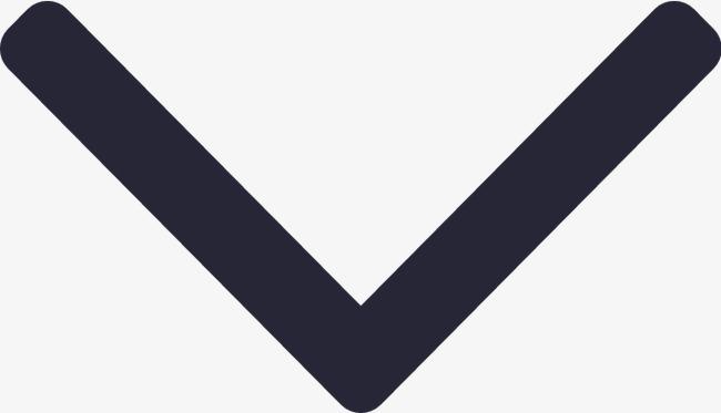 小箭头-下【高清图标元素png素材】-90设计