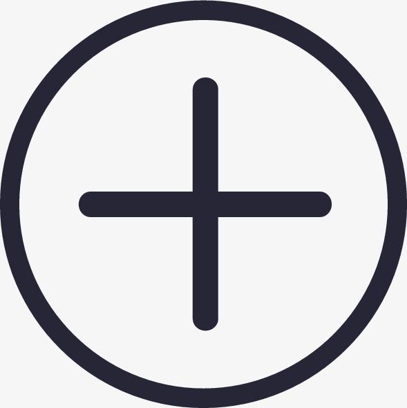 加号【高清图标元素png素材】-90设计