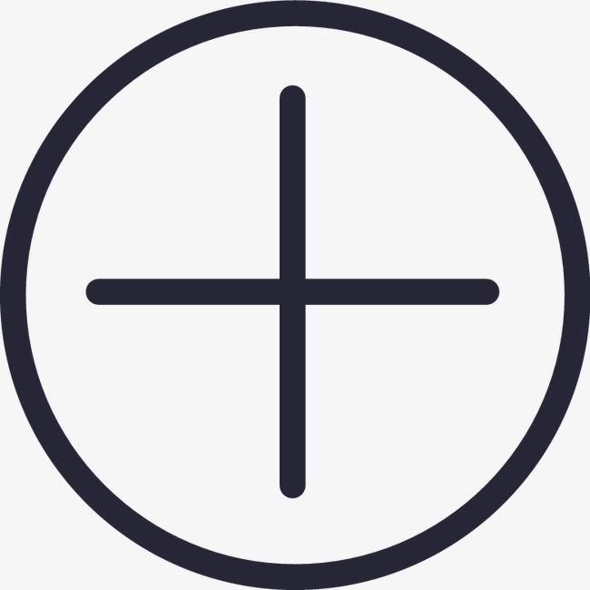 加号(圆)png素材-90设计