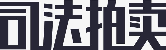 司法拍卖文字logo