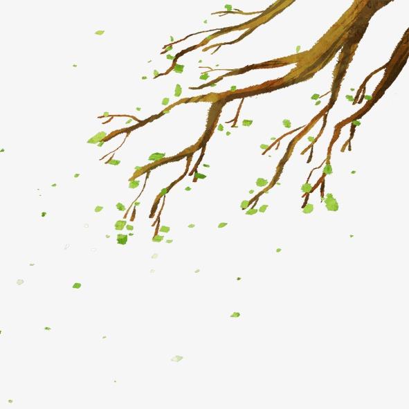 本次树枝作品为设计师豆子chen创作,格式为png,编号为 14721773,大小