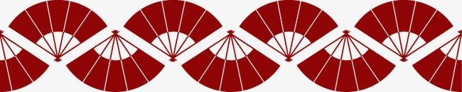 中国风喜庆扇子边框(图片编号:15402282)