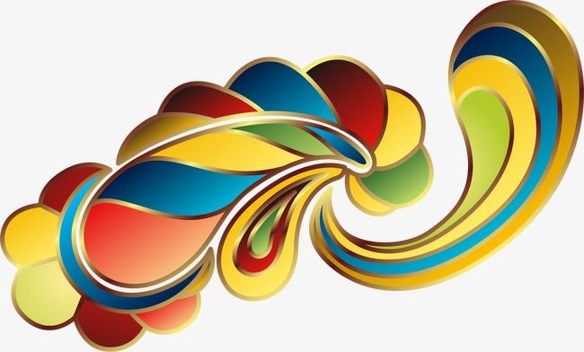 图片 > 【png】 手绘彩色国庆花纹  分类:装饰元素 类目:其他 格式:pn