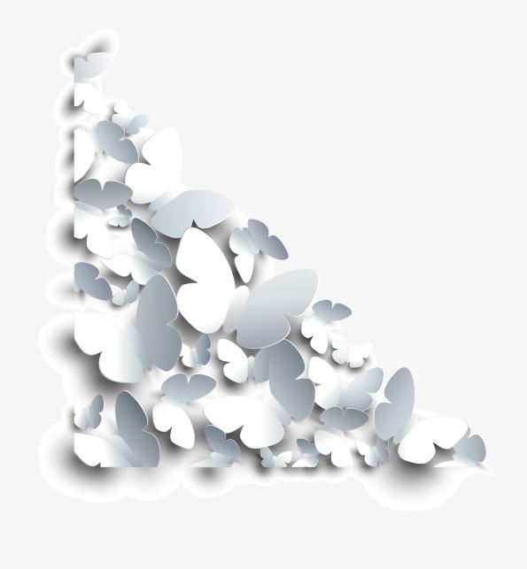 设计元素 背景素材 其他 > 矢量白色蝴蝶角框  [版权图片] 找相似下一