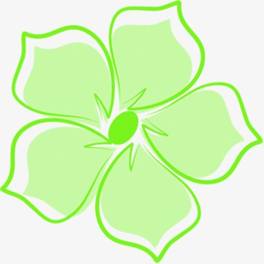 绿色五叶草