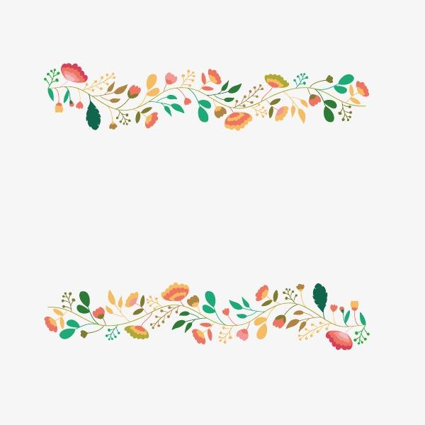 小清新花边装饰