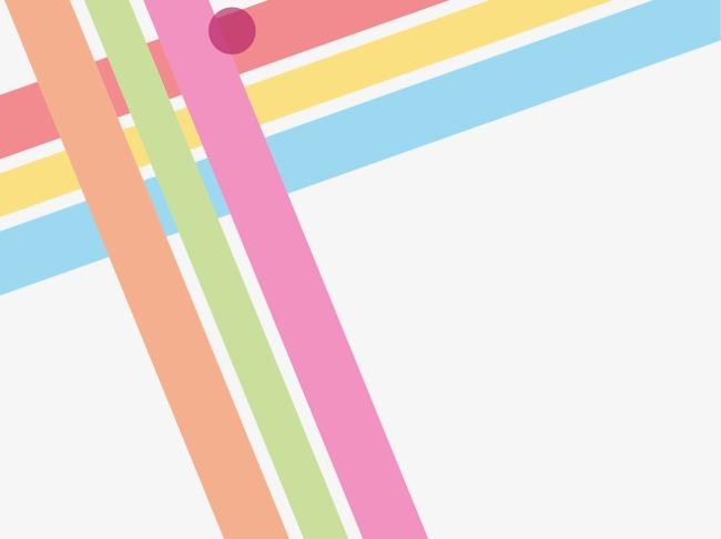 抽象几何炫彩线条